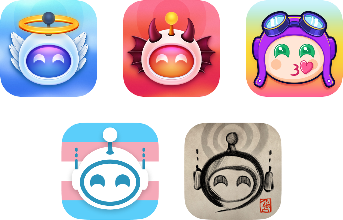 5 new app icons available in this Apollo update